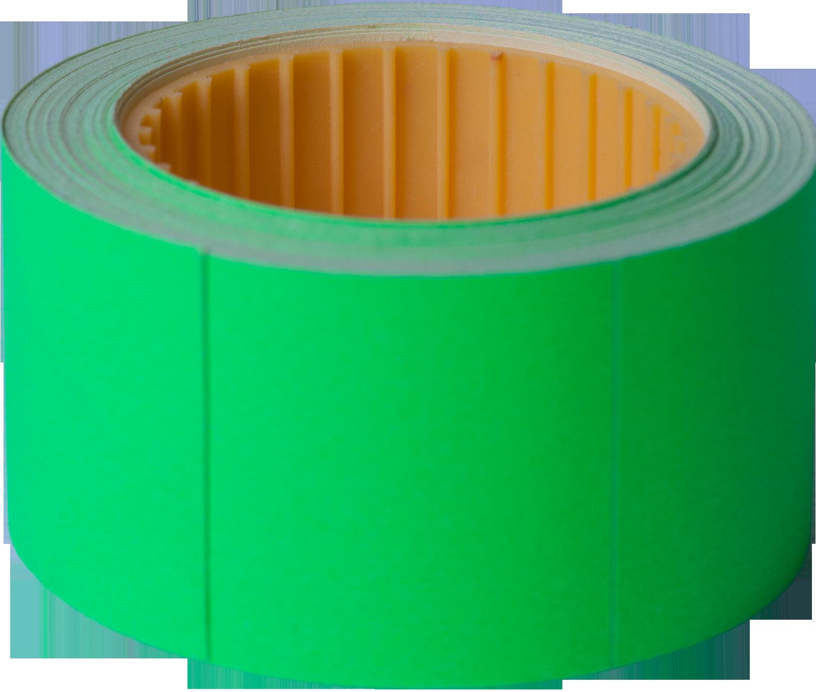 Ценник прямоугольный Buromax30х40 мм, 150 шт,зеленый