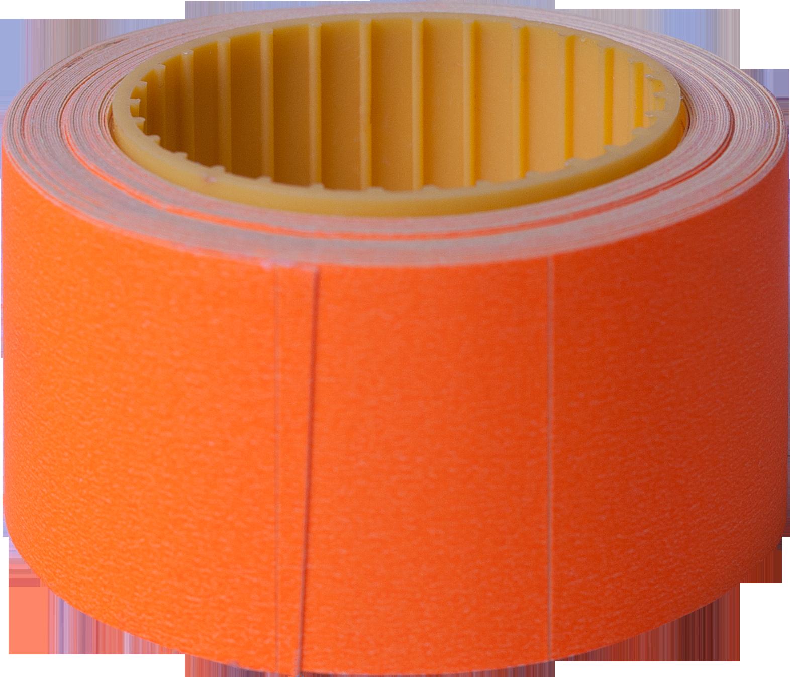 Ценник прямоугольный Buromax30х40 мм, 150 шт,оранжевый