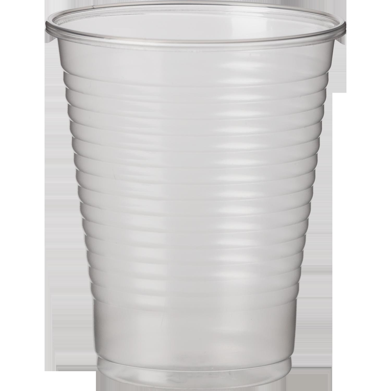 Стакан одноразовый Buroclean термостойкий 200 мл, прозрачный, 100 шт