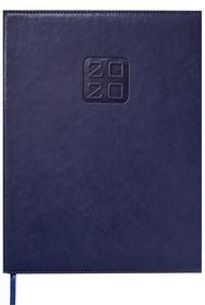 Еженедельник датированный 2020 BuromaxBRAVO(Soft),синий