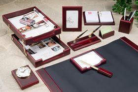 Набор настольный для руководителя BESTAR 0259XDU, 10 предметов, красное дерево