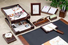 Набор настольный для руководителя BESTAR 0259XDX, 10 предметов, орех