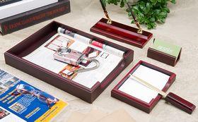 Набор настольный для руководителя BESTAR 5159XDU, 5 предметов, красное дерево