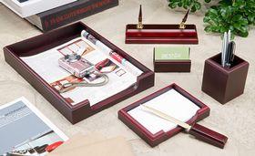 Набор настольный для руководителя BESTAR 6159XDU, 6 предметов, красное дерево
