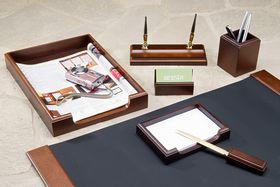 Набор настольный для руководителя BESTAR 7159XDX, 7 предметов, орех