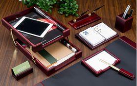 Набор настольный для руководителя BESTAR, 8 предметов, красное дерево