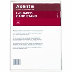 Табличка информационная Axent настольная А4, белая