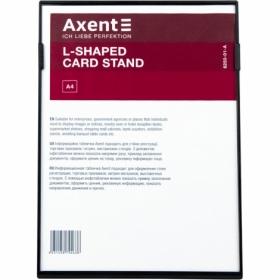 Табличка информационная Axent настольная А4, черная