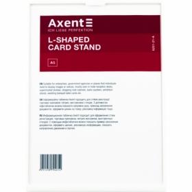 Табличка информационная Axent настольная А5, белая