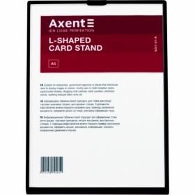 Табличка информационная Axent настольная А5, черная
