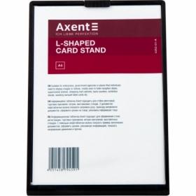 Табличка информационная Axent настольная А6, черная