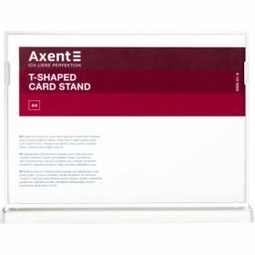 Табличка информационная Axent настольная двухсторонняя A4, белая