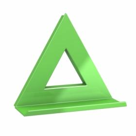 Магнит Dahle Mega Delta 75x75 мм, 1 шт, зеленый