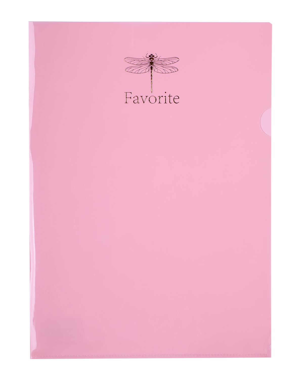 Папка-уголок Buromax PASTEL, А4, 180 мкм, розовая