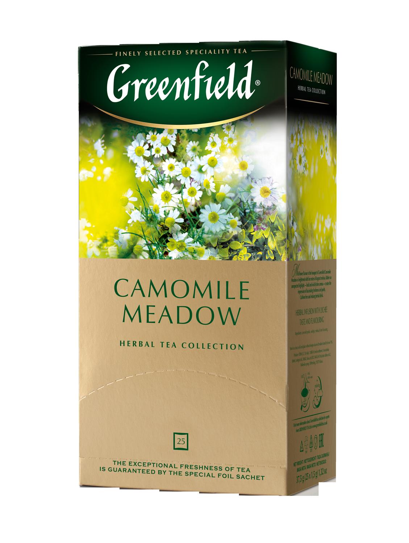 """Чай травяной Camomile Meadow  """"Greenfield"""" 1,5 гр., 25 шт, пакет"""