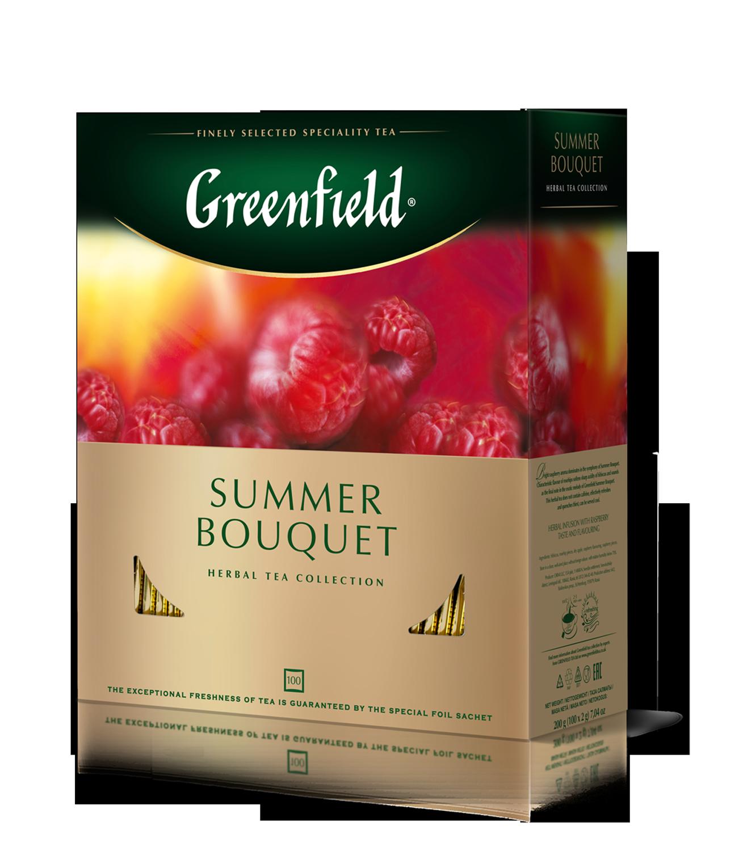 "Чай травяной Summer Bouquet ""Greenfield""2 rp., 100 шт, пакет"