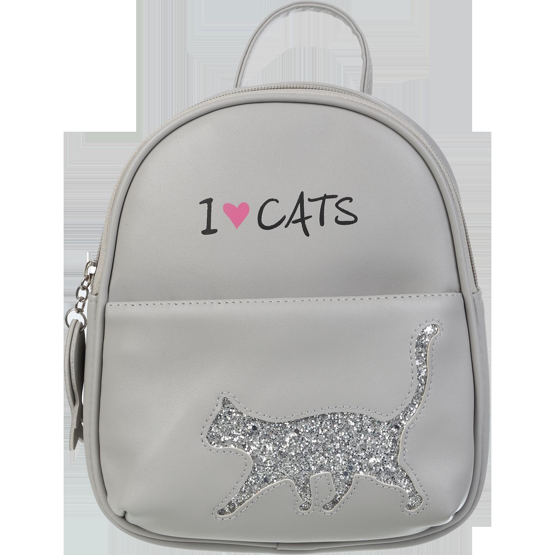 Рюкзак  ZiBi CAT LOVER, серый - №1