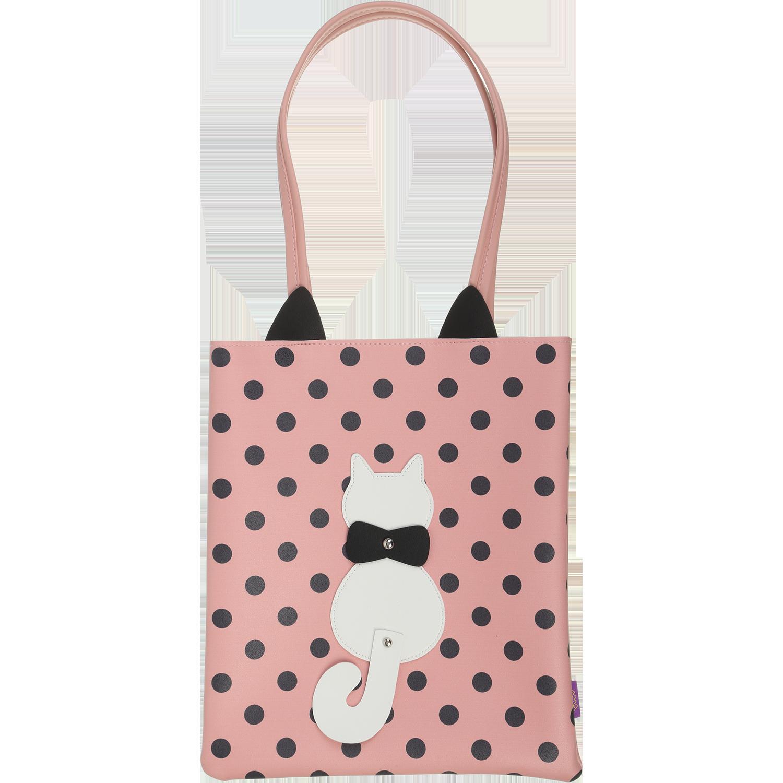 Сумка на плечо ZiBi PUSSY CAT, розовая - №1