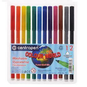 Фломастеры  Colour World 7550/12, Centropen, 12 цветов