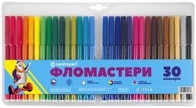 Фломастеры ТП 7790/30, Centropen, 30 цветов