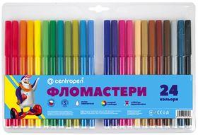 Фломастеры ТП 7790/24, Centropen, 24 цвета