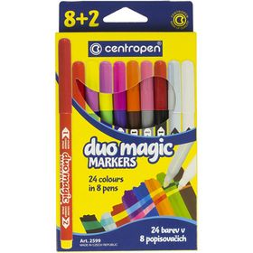 Фломастеры Duomagic 2599, Centropen, 24 цвета