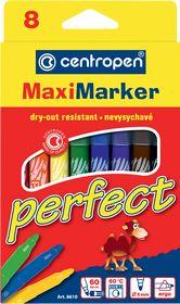 Фломастеры Perfect Maxi 8610, Centropen, 8 цветов