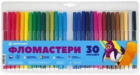 Фломастеры Colour World 7550/30, Centropen, 30 цветов