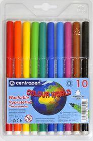 Фломастеры Colour World 7550/10, Centropen, 10 цветов