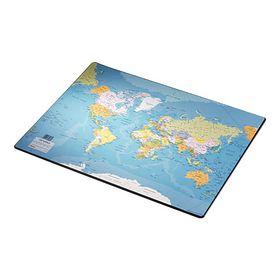 Подкладка для письма Esselte 440х530 мм, карта мира