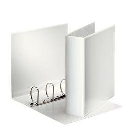Папка Панорама на кольцах Esselte А4, 86 мм, 4D, РР, белая