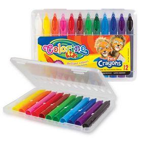 Краски для лица Colorino, 12 цветов