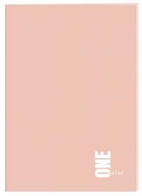 Тетрадь INTERDRUK One Color А4, 60 листов, клетка, ассорти