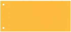 Разделитель-закладка Esselte 10.5х24 см, картон, желтый, 100 шт