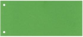 Разделитель-закладка Esselte 10.5х24 см, картон, зеленый, 100 шт