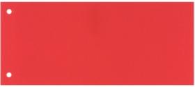 Разделитель-закладка Esselte 10.5х24 см, картон, красный, 100 шт