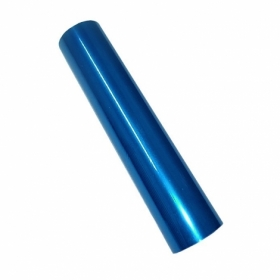 Фольга Crown Roll Leaf 08 МА40-510, 210 мм, 30.5 м, ярко-голубая