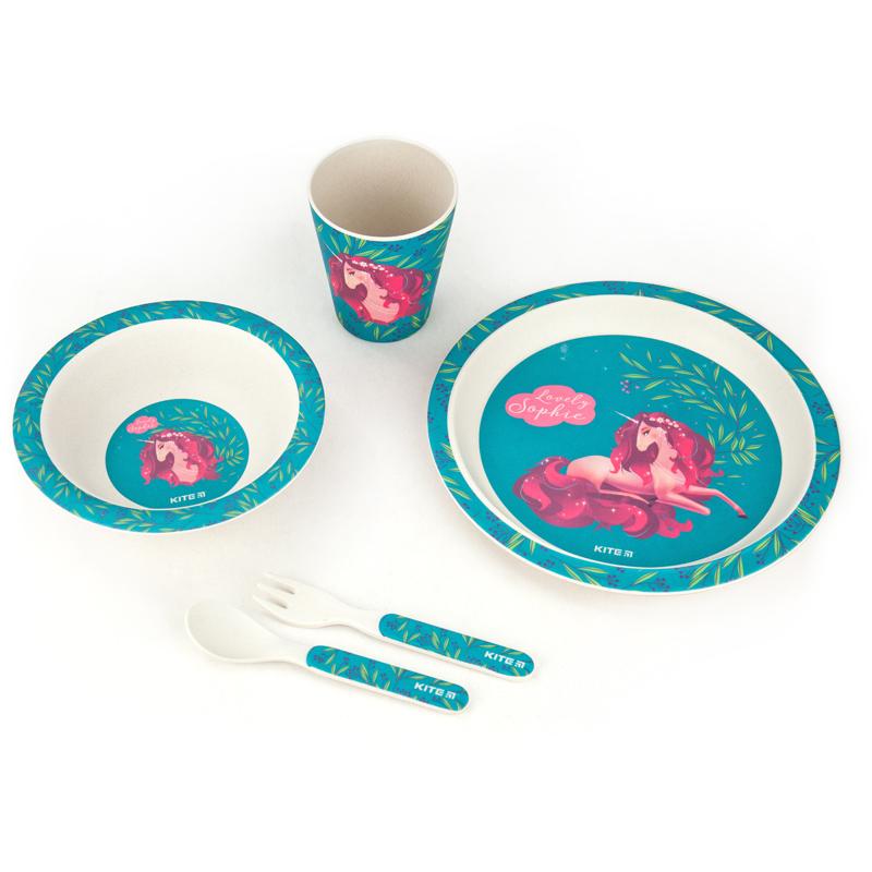 Набор посуды из бамбука KITE Lovely Sophie, 5 предметов