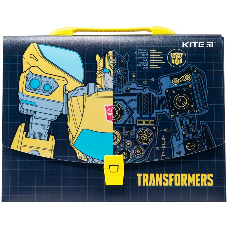 Пластиковый портфель KITE Transformers А4, 1 отделение