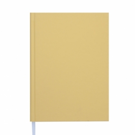Ежедневник недатированный Buromax BRILLIANT, желтый