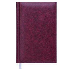 Ежедневник недатированный Buromax BASE(Miradur) А6, бордовый
