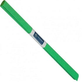 Бумага креповая рулонная INTERDRUK, 200х50 см, зеленая