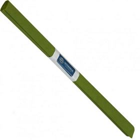 Бумага креповая рулонная INTERDRUK, 200х50 см, оливковая