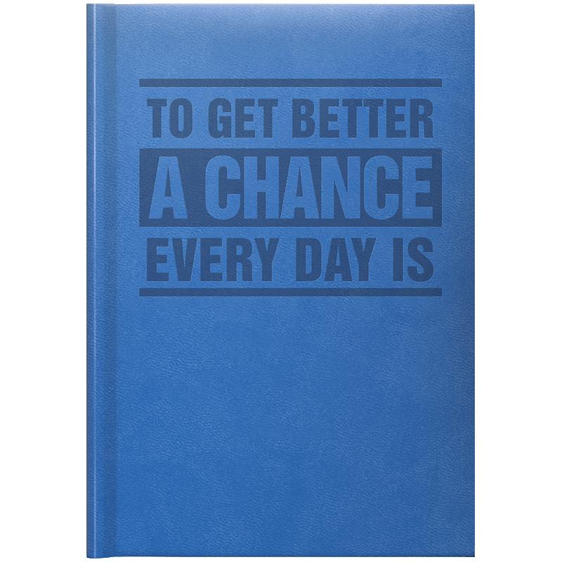 Ежедневник недатированный Brunnen Агенда Torino Trend А5, голубой