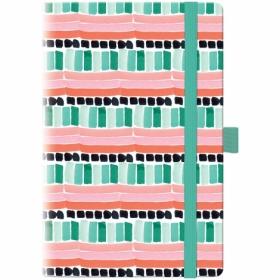 Еженедельникнедатированный Brunnen Смарт Графо А5, Mint&Pink BBH