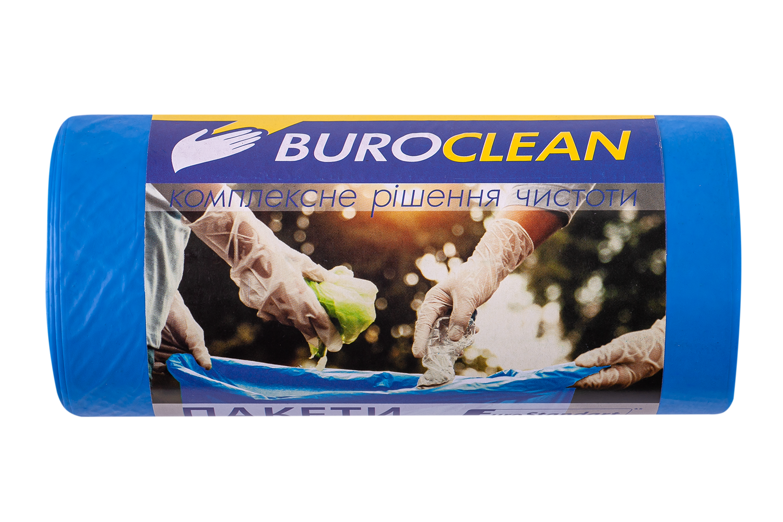 Пакеты для мусора BuroClean EuroStandart прочные 60 л, 20 шт