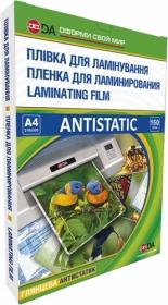 Пленка для ламинирования Antistatic глянцевая 150 мкм,А4, 100 шт