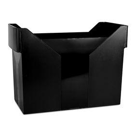 Картотека для подвесных файлов DONAU пластиковая, черная