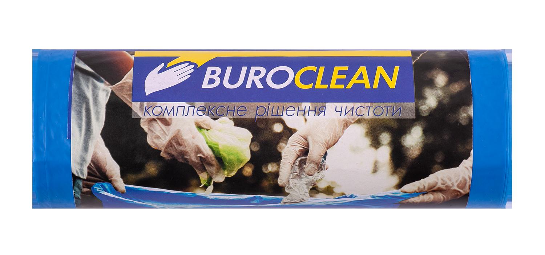 Пакеты для мусора BuroClean EuroStandart прочные 120 л, 10 шт