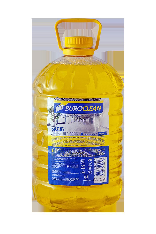 Средство для мытья полов BuroClean EuroStandart  ЛИМОН, 5 л